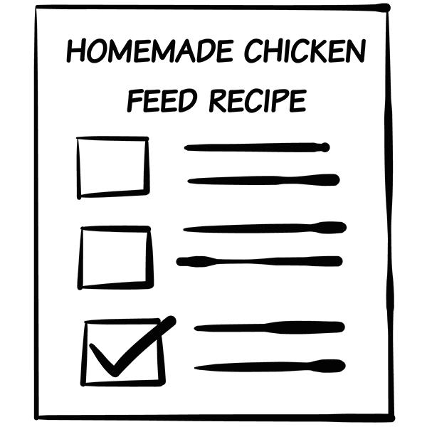 chicken feed recipe