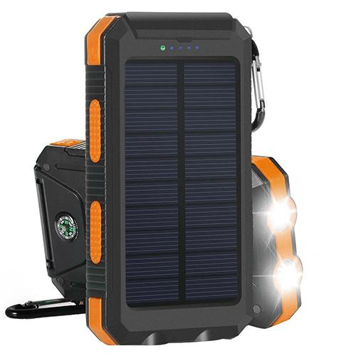 AYYIE SOLAR CHARGER 10,000 MAH SOLAR POWER BANK