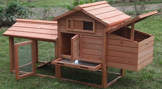 Ardinbir Deluxe Wood Chicken Coop