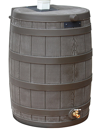 Good Ideas RW40-Oak Rain Wizard Barrel
