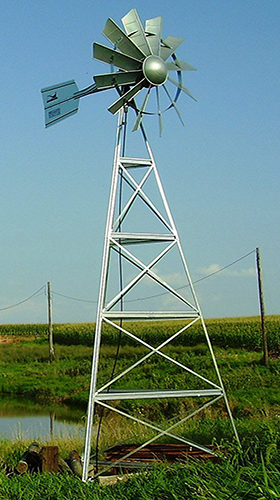 Pheasants Forever Aeration Windmill Galvanized