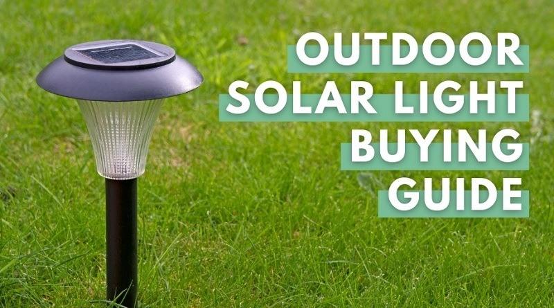 Outdoor solar light