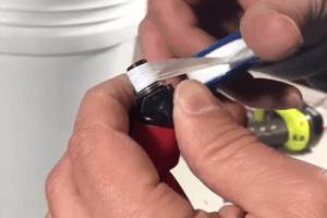 DIY Chicken Waterer - Step 2