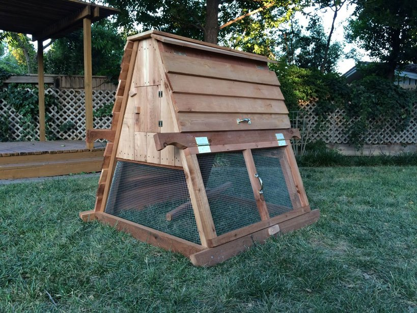 A-Frame Chicken Coop Plans Charming Shiplap