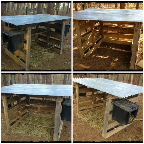 Pallet Coop Ideas Simple Open Coop