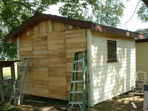 Pallet Coop Ideas Chicken House