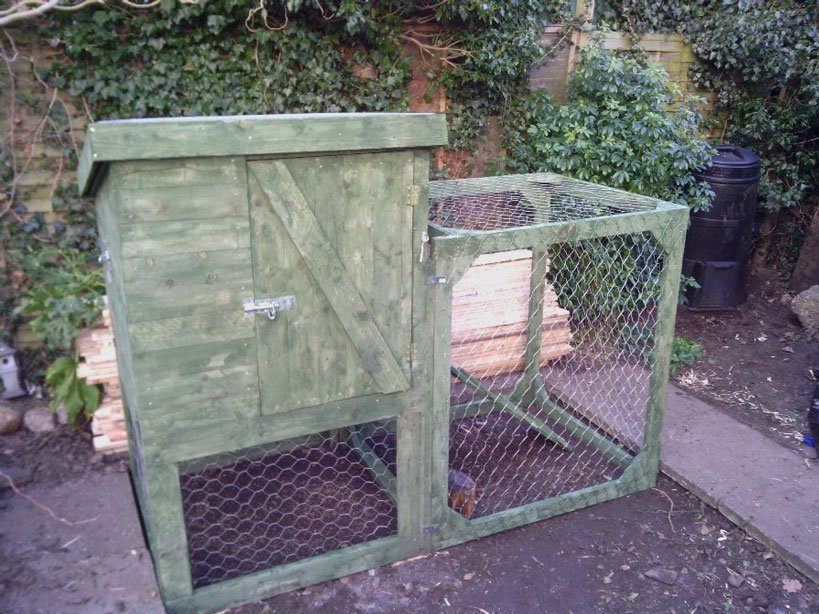 Pallet Coop Ideas Raised Hen House