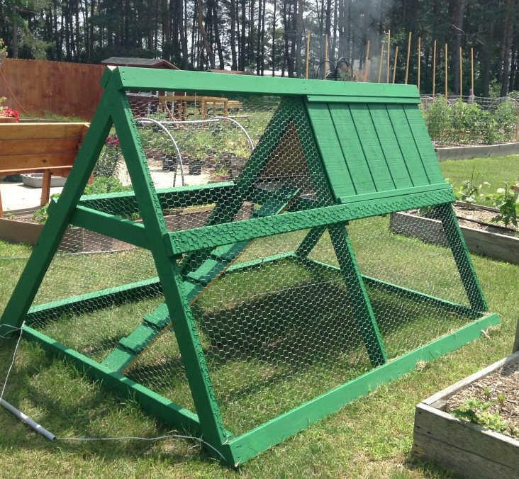 A-Frame Chicken Tractor