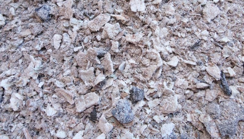 an image filled with wood ash