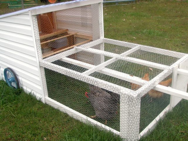 recycled chicken coops