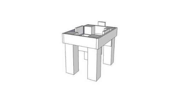 Beginner Friendly Langstroth 10-Frame Beehive Stand