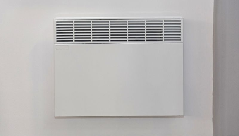 a hardwired insert-type electric wall heater