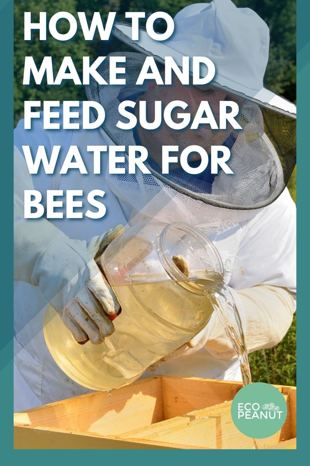 how to make sugar water for bees