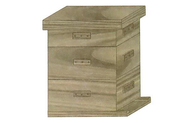 Simple Vertical Box Hive
