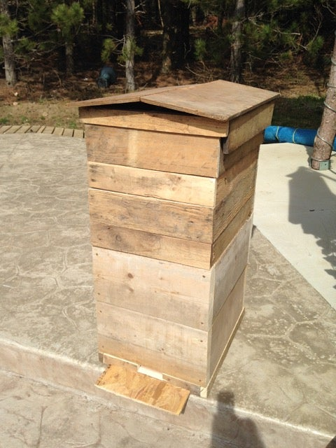 Wooden Skid Hive Stand