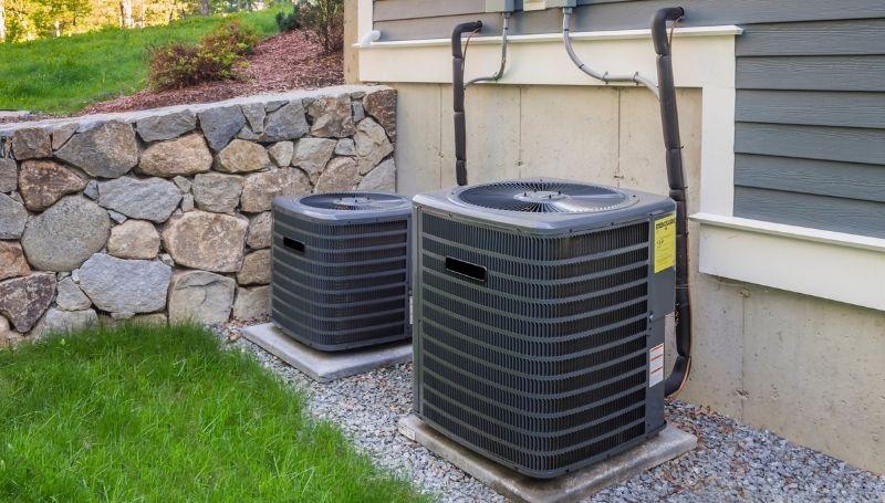 outdoor HVAC units